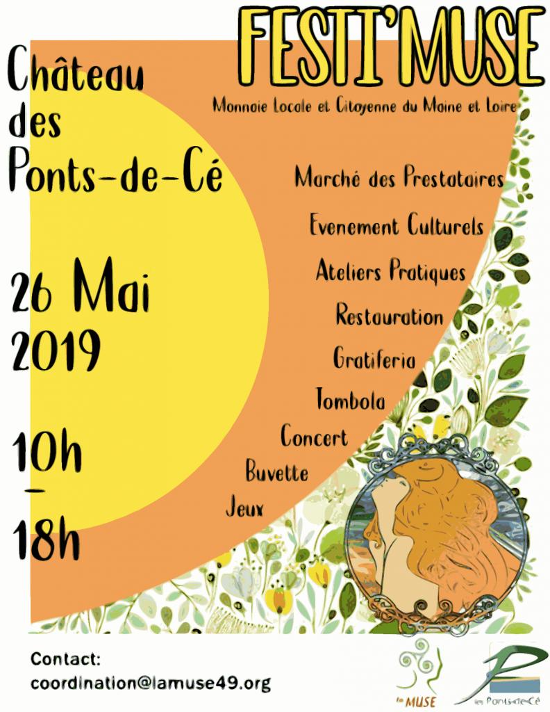 Affiche FestiMuse 2019
