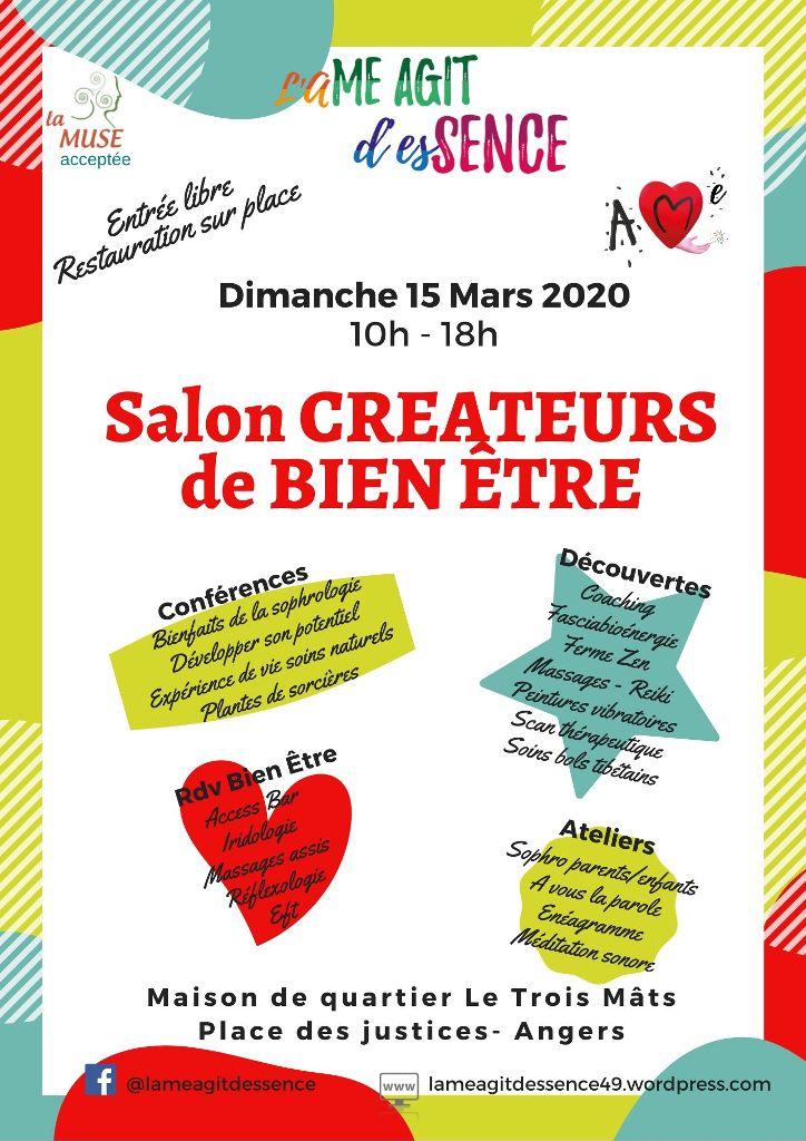 Salon Créateurs de Bien Être – 15 mars 2020